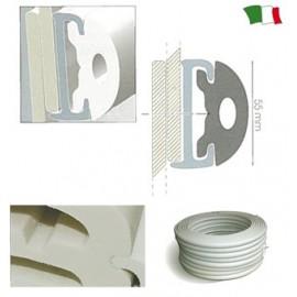 Profil de protecţie din PVC 55 mm